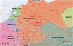 The Rhine-Oder area, i.e. modern Germany, in the year 1900 AD.