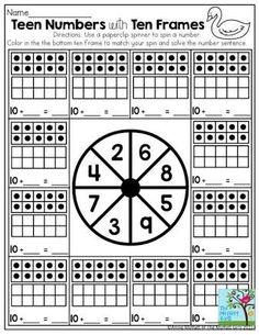Resultado de imagen para subtraction ten frame worksheets