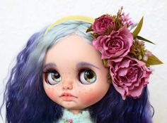Excited to share the latest addition to my #etsy shop: Custom Blythe doll OOAK TBL mohair hair Blythe Dolls For Sale, Philtrum, Hair Photo, Custom Dolls, Beautiful Dolls, Art Dolls, Going Out, Carving, Trending Outfits