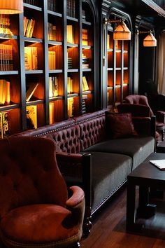 The NoMad Hotel, library lounge, NY