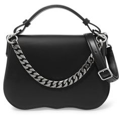 CALVIN KLEIN 205W39NYCLeather Shoulder Bag (£1,245) via Polyvore featuring bags, handbags and shoulder bags
