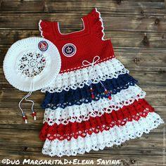 Crochet Toddler Dress, Crochet Dress Girl, Crochet Baby Jacket, Crochet Girls, Crochet Baby Clothes, Crochet Woman, Toddler Girl Dresses, Crochet For Kids, Knitting For Kids