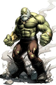 Maestro Hulk by Dale Keown! (Marvel comics)