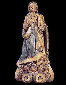 Barroco no Brasil – Frei Agostinho de Jesus: Nossa Senhora do Rosário, século XVII, barro. Acervo Artístico-Cultural dos Palácios do Governo do Estado de São Paulo