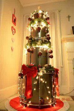 Xmas Drum Tree