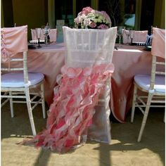 Special bridal chair sash!!