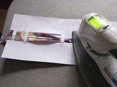 Schrägbandformer-Schablone zum Ausdrucken mit Anleitung