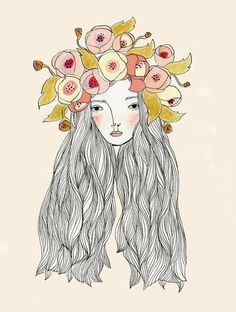 thistledown spirits: ADORN YOUR HAIR WITH FLOWERS, FEEL THE AIR UPON YOUR SKIN
