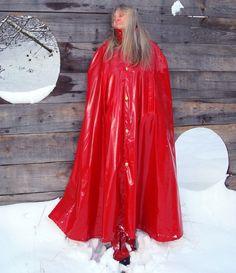 Rain Cape Regencape Raincoat Lack Shiny Vinyl Regenmantel Vintage Lackcape XXL | Kleidung & Accessoires, Herrenmode, Sonstige | eBay!