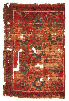 16. Yüzyıl  Ait olduğu yöre: Manisa - Kula  Bulunduğu yer: Vakıflar Halı Müzesi İstanbul