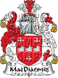 MacDiarmid Family Crest apparel, MacDiarmid Coat of Arms gifts