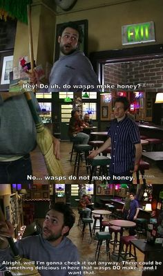 Always Sunny In Philadelphia - ep: the waitress is getting married It's Always Sunny, Always Be, Sunny Images, My Name Is Earl, Charlie Kelly, Are You Not Entertained, Sunny In Philadelphia, Pinterest Memes