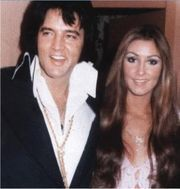 On April 21, 1975 Elvis was in Memphis where he bought a house for Linda Thompson at 1254 Old Hickory, near Graceland.