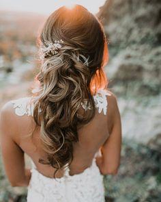 loose wedding hair