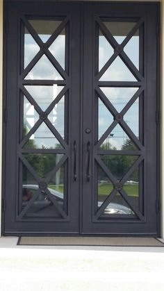 Craftsman Double Front Door img_sm-2pr1 | doors | pinterest | doors and front doors