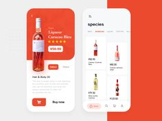 Wine shopping store designed by yaojianlong for Panda Plus. Connect with them on Dribbble; Web Design Mobile, App Ui Design, User Interface Design, Flat Design, Site Design, Pag Web, Design Responsive, Template Web, App Design Inspiration