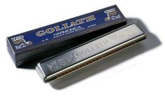Hohner 453-C Goliath Tremolo Key Harmonica, Chrome by Hohner. $88.03. Part of Hohner's Classics Collection, the Goliath is one of their largest tremolo harmonicas, with an extended tonal range and a very attractive engraved cover design. The bottom row of holes features the same notes as the top row, tuned slightly higher. This special tuning creates the tremolos distinct sound, a beautiful vibrato effect with a richer tone. These harmonicas are primarily used in ballads, fo...