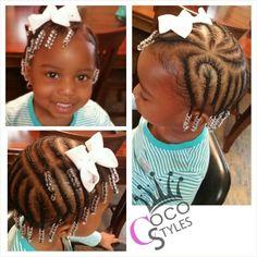Aww lil braids
