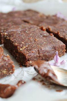 Brownie cru {vegan, sans gluten} | aime & mange | Bloglovin'