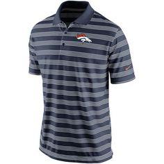 Nike Denver Broncos Navy Blue Preseason Performance Polo