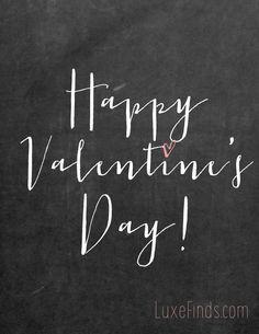 Happy Valentine& Day Valentine Printable Art by LuxePrintables My Funny Valentine, Valentines Day Messages, Valentine Day Love, Valentine Decorations, Valentine Crafts, Happy Hearts Day, Heart Day, Love Days, Faith Hope Love