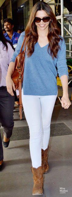 #Deepika#Padukone#Airport#Look