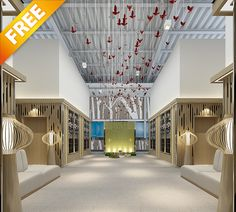 FREE SAMPLES INTERIOR VOL 05 This 3d models collection is designed for architectural visualizations made in 3ds MAX.