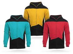 Star Trek Hoodies! Alert, they now make Star Trek Hoodies!