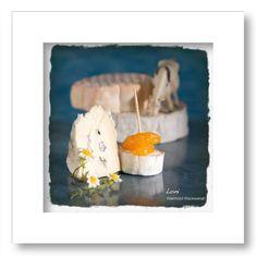 cool Fotografie »Brie mit Mandarine und Kuh«,