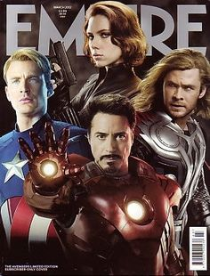 EMPIRE Magazine(UK)- March 2012 - The Avengers Limited Edition Subscribers cover