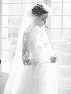 Elegant Victoria's Secret Bridals via oncewed.com