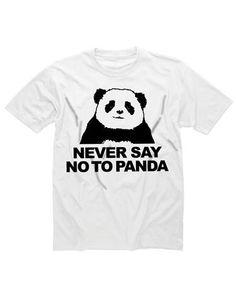 Shotdeadinthehead | Shotdead Never Say No To Panda T-Shirt at RouteOne ($1-20) - Svpply