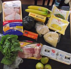 $25 Shopping Cart....this would be great handout-wise for a health fair, etc. with recipes!