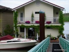 Love the house boats in Portland, OR