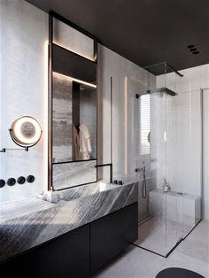 Greige On Behance Ccedil Copy Ordm Eacute Acute Aelig Yen Aelig Cent Macr In 2019 Wc Bathroom Bathroom Bathroom Design Layout, Bathroom Design Luxury, Wc Design, Bath Design, Bathroom Designs, Modern Design, Wc Bathroom, Washroom, Bathroom Ideas