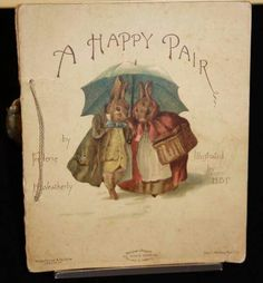 An early illustration by Beatrix Potter before the famous books.....