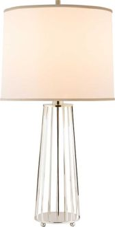 I won a pair of these gorgeous lamps, which I will be using as one of the ceterpieces of my new room.