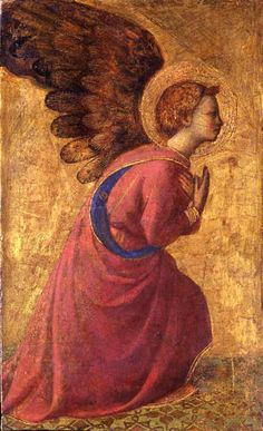 Fra Angelico, an angel in adoration