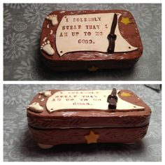 Harry Potter inspired altoids tin made by India Hudson.