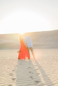 Glamis Sand Dunes Engagement Session | Tugether Photography