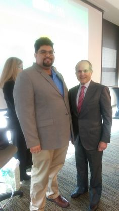 Asif Hakeem CEO of Hakeem Investments Florida, LLLP. with Kenneth Feld, CEO of Feld Entertainment, at University of South Florida Muma College of Business Conversation With A CEO! #TampaHasSwagger