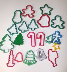 Mixed Lot Of 20 Christmas Holiday Cookie Cutters  | eBay