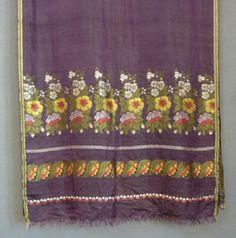 Spitalfield silk | Spitalfields Silk Stole c 1815 | Woven Shawls of Paisley design | Meg ...