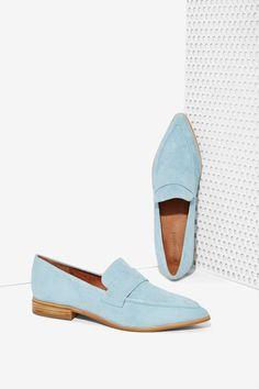 Jeffrey Campbell Belanger Suede Loafer | Shop What's New at Nasty Gal