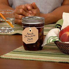 the chew | Recipe | Carla Hall's Peach Jalapeno Jam