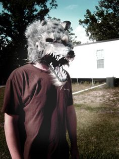 How to Make a Werewolf Mask (follow link for instructable)