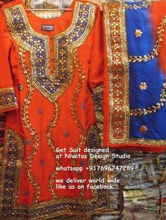 for enquiry kindly send msg or call +917696015451, & for what,s up +917696015451 EMAIL: nivetasfashion@gm... we can make any color combination we ship all over the world #punjabi #patiala #salwar #suit #boutique #dupatta #india #punjabi #fashion