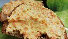 Mrkvová pomazánka   recept na vynikající zeleninovou pomazánku Quick Recipes, Cooking Recipes, Healthy Recipes, What To Cook, Ham, Potato Salad, Food And Drink, Low Carb, Yummy Food