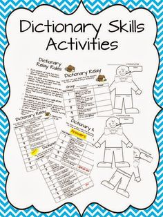 The Book Bug: Dictionary Skills Use with 4th
