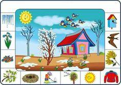 Cherche et trouve géant 3 Speech Activities, Kids Learning Activities, Spring Activities, Montessori Activities, Toddler Learning, Weather For Kids, Seasons Activities, English For Beginners, Hidden Pictures